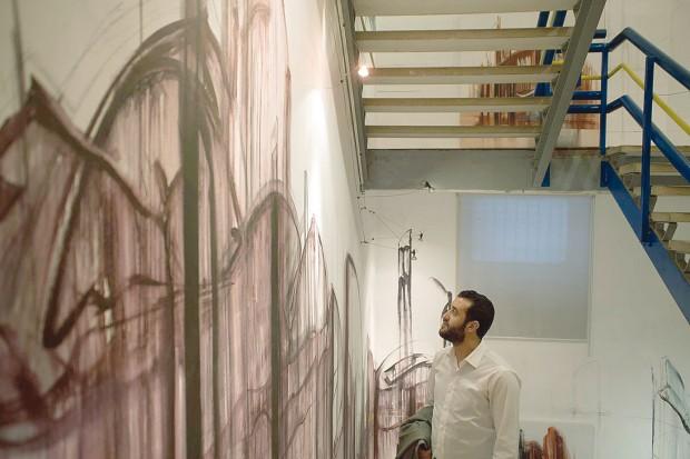 Algerian artist Hacen Drici